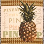 pineapple-throw-blankets